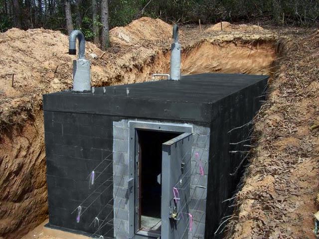 Bunker France abri souterrain 1