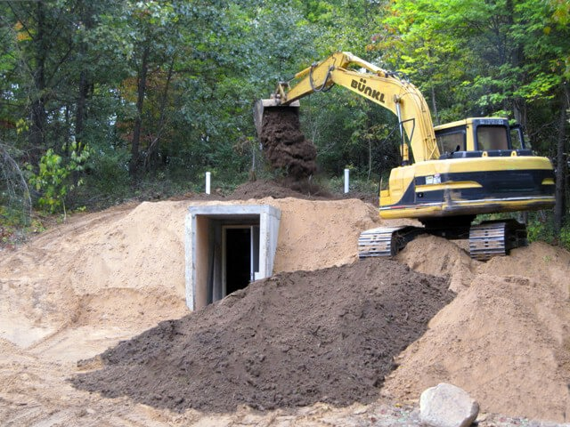 Bunker France abri souterrain