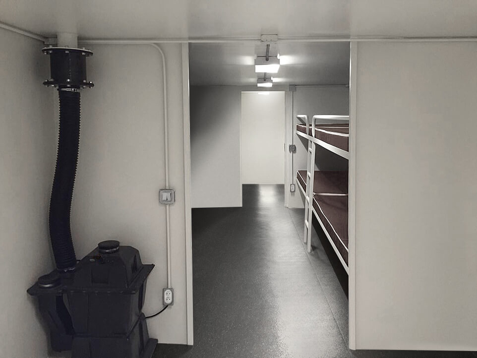Bunker NRBC privé