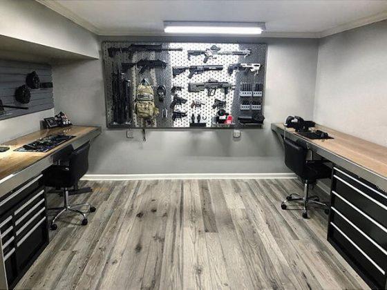 Local armes à feu