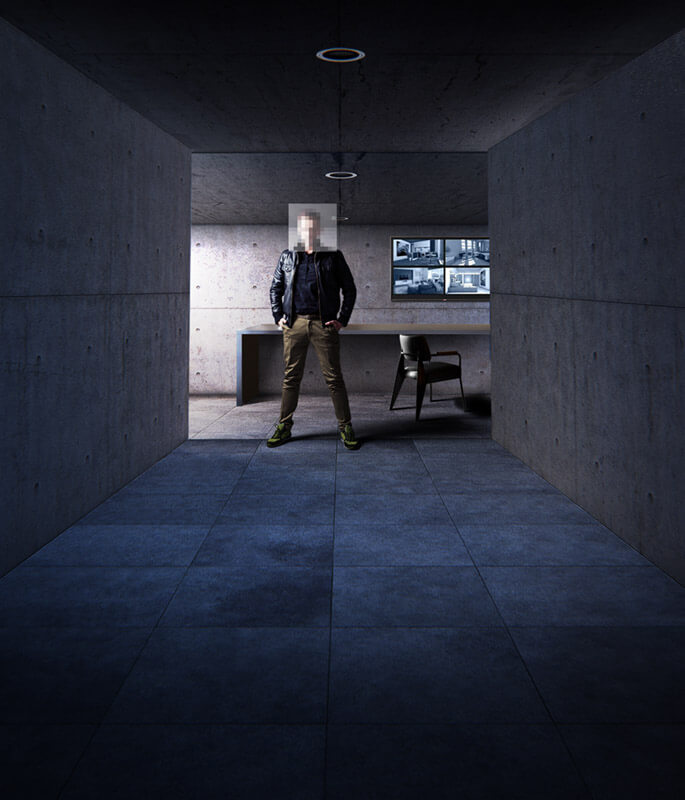 Construction bunker privé