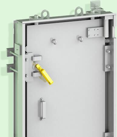 Porte anti-souffle